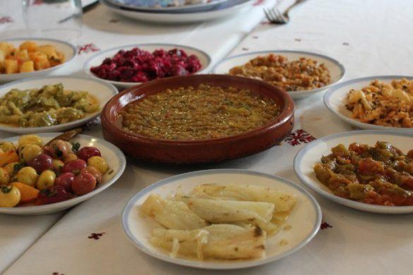 Moroccan mezze