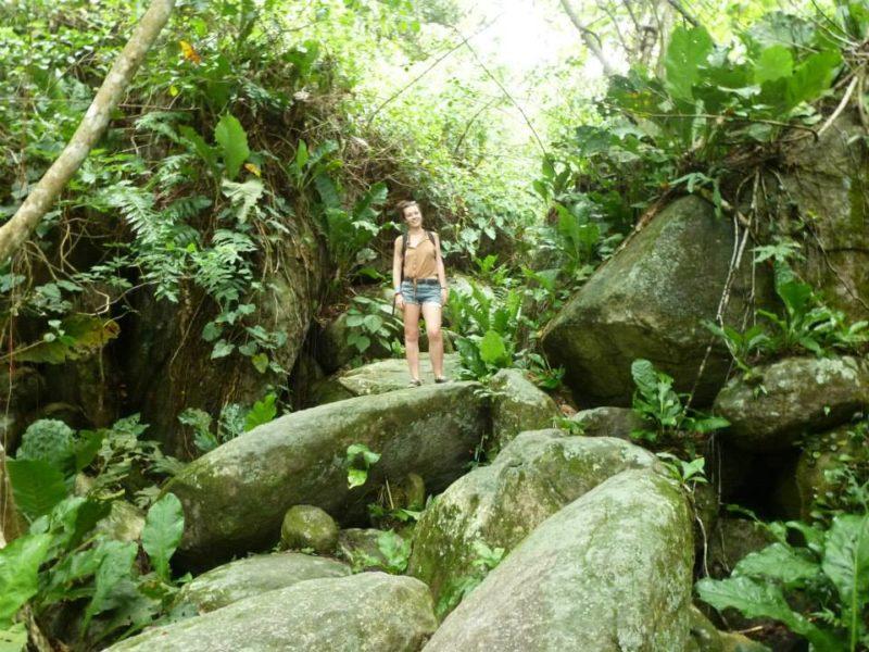 Colombia Tayrona National Park hiking