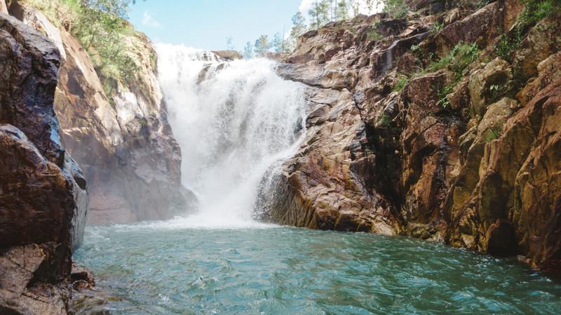Belize tour San Ignacio waterfall