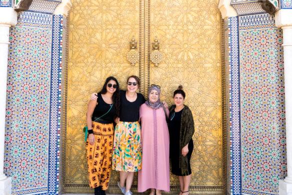 Intrepid Travel-Morocco-Fes-pose-local-doorway--039