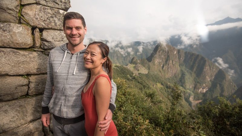 Couple on the Inca Trail