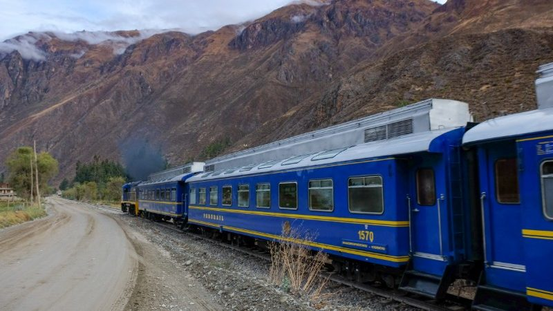 The train to Machu Picchu.