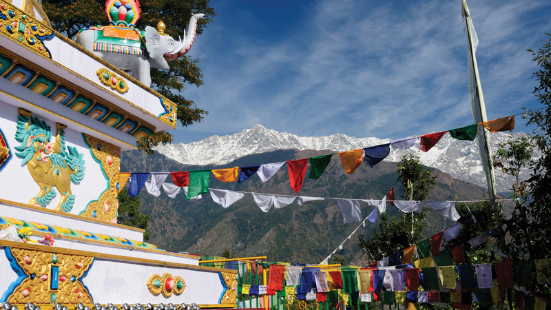 Prayer flags at Dharamsala