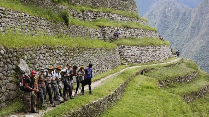 A group on the Inca Trail.