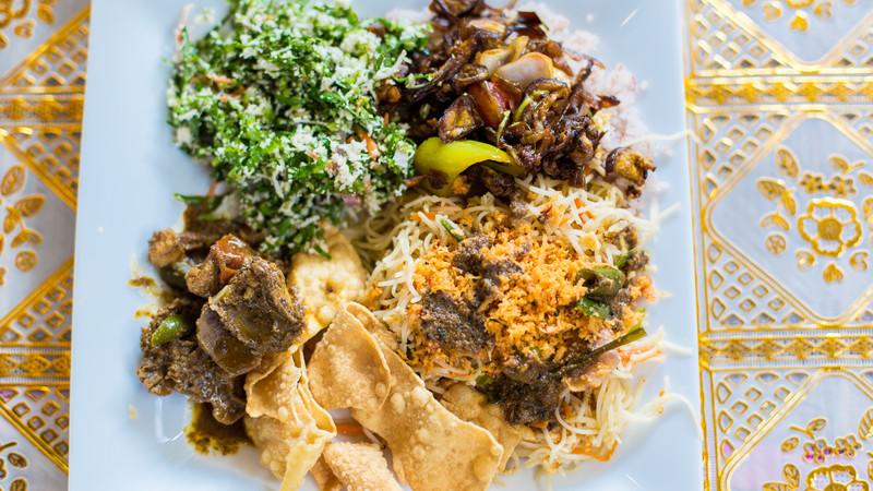 Sri Lankan food.