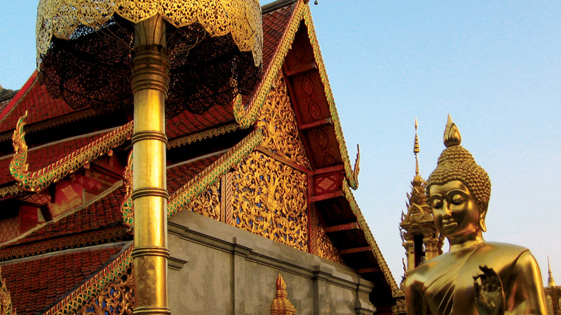 Thailand Wat Phra That Doi Suthep