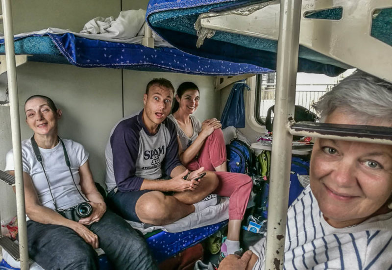 China tour solo travel sleeper train