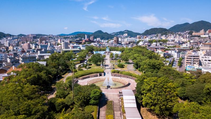 Nagasaki Peace Park, Japan
