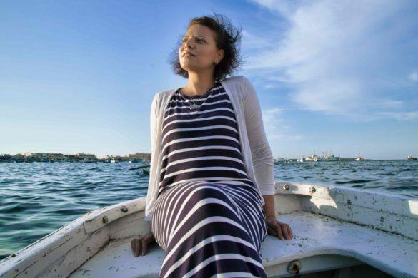 female tour guide Egypt