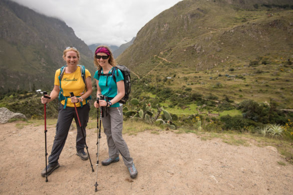 Two female trekkers