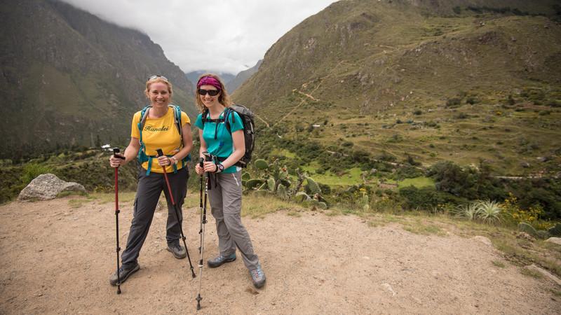 Two female trekkers