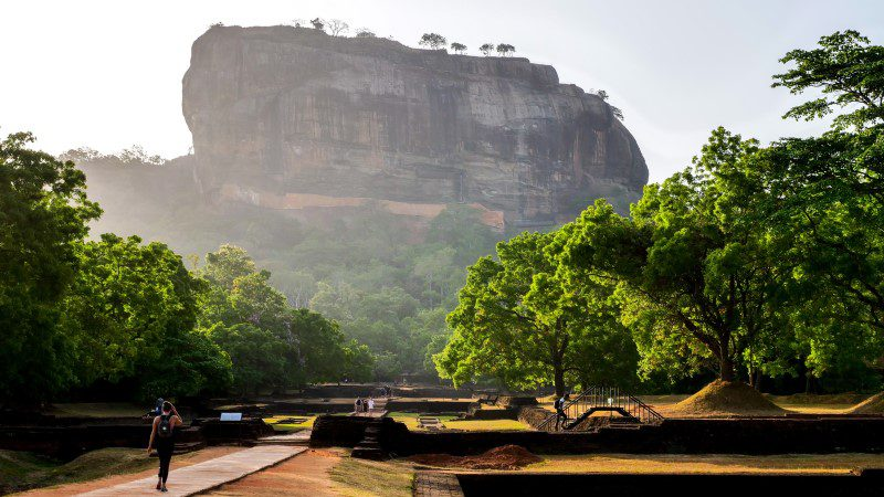 Sigiriya at sunrise, Sri Lanka