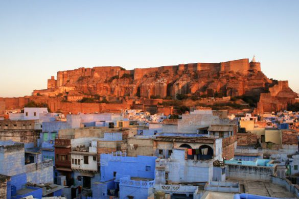 Jodhpur blue Rajasthan India