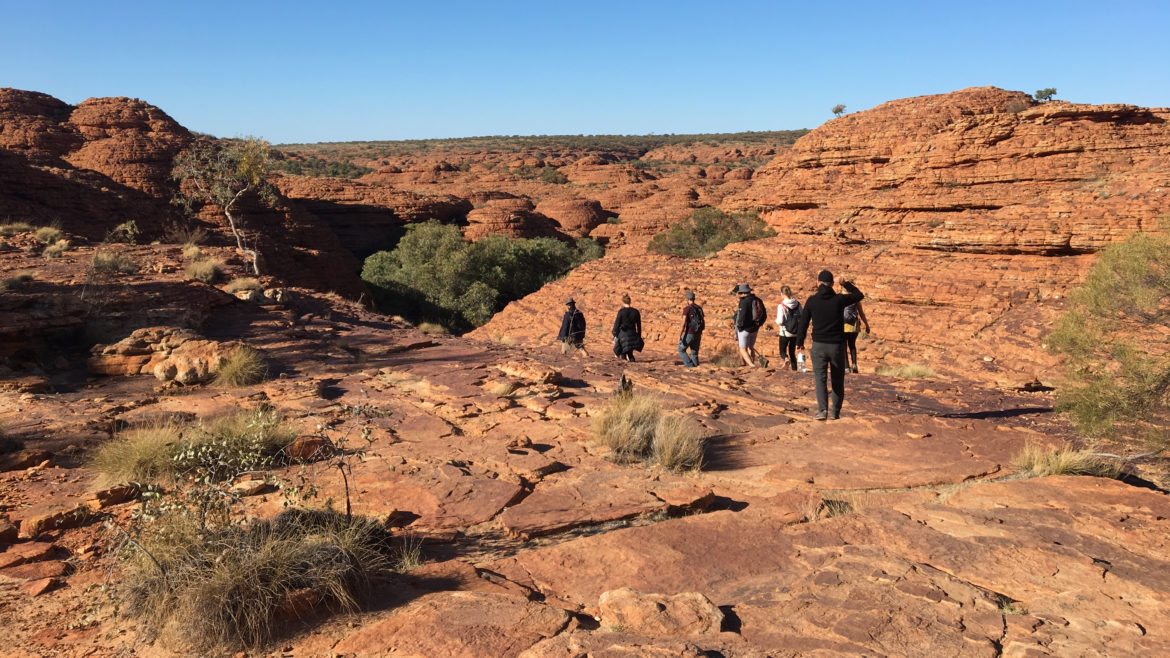 Uluru hiking tour