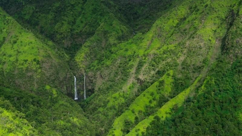 Waterfalls of Waimea, Kauaii