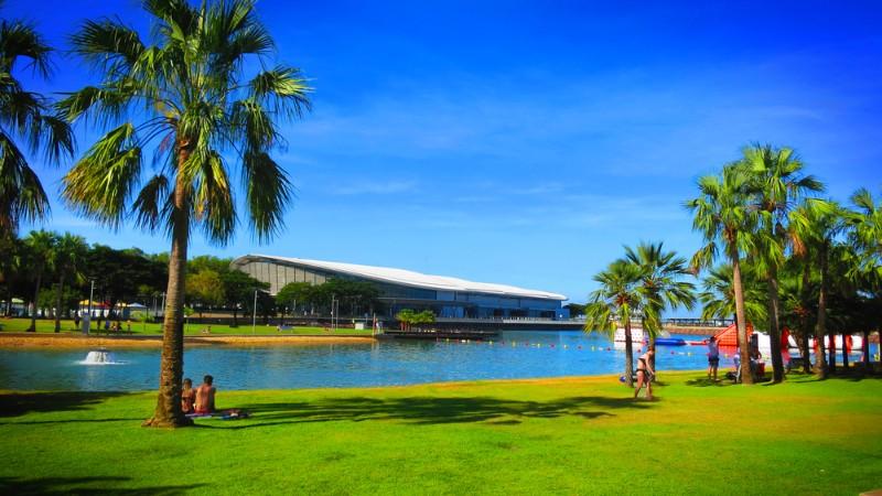 Sunny Darwin waterfront