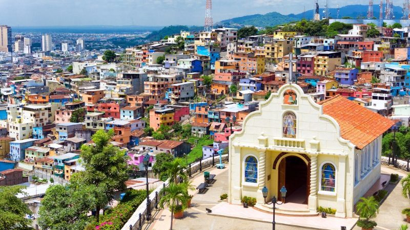 Church in the city of Guayaquil, Ecuador