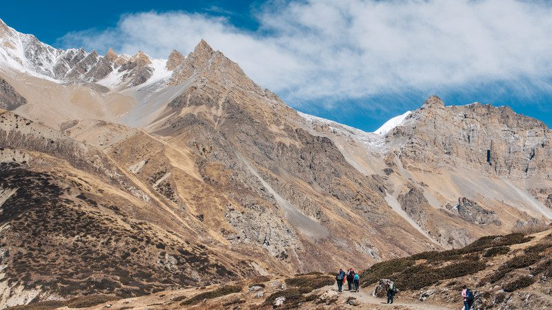 Trekking in the Annapurnas