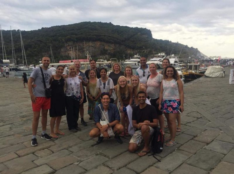 Italy group tour student