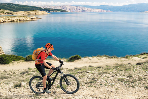 new adventure cycling tours Croatia