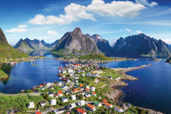 travel to Lofoten Islands Norway