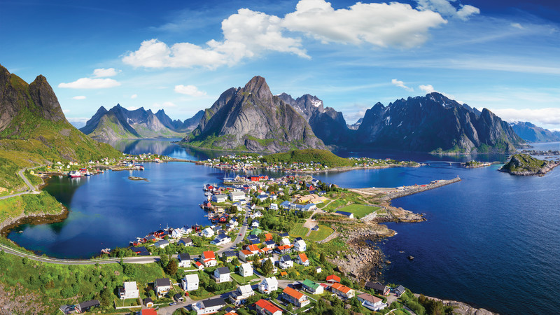travel to Lofoten Islands Norway