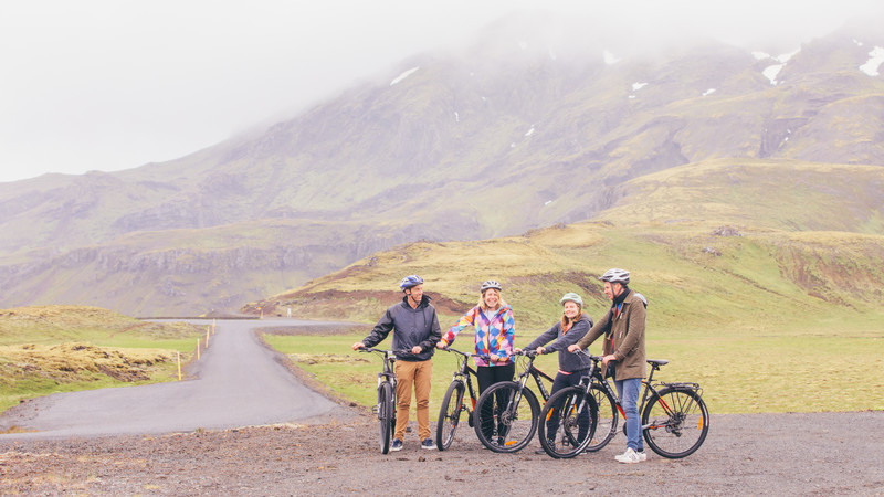 new adventure cycling tours Iceland