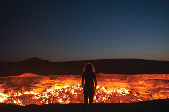 Turkmenistan's Darvaza Crater