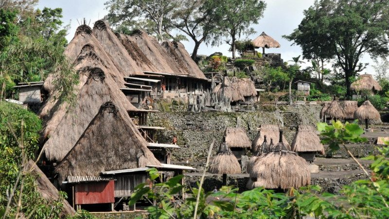 Traditional Ngaba village, Flores