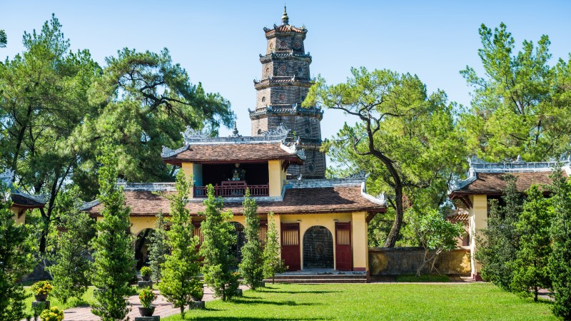 Thien Mu temple and pagoda, Hue