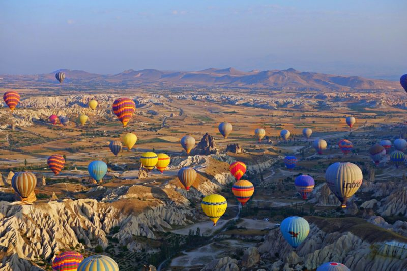 Cappadocia where to go in Turkey