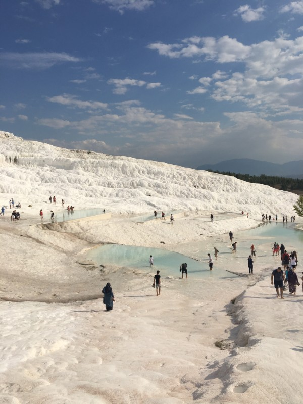 The hot springs of Pamukkale