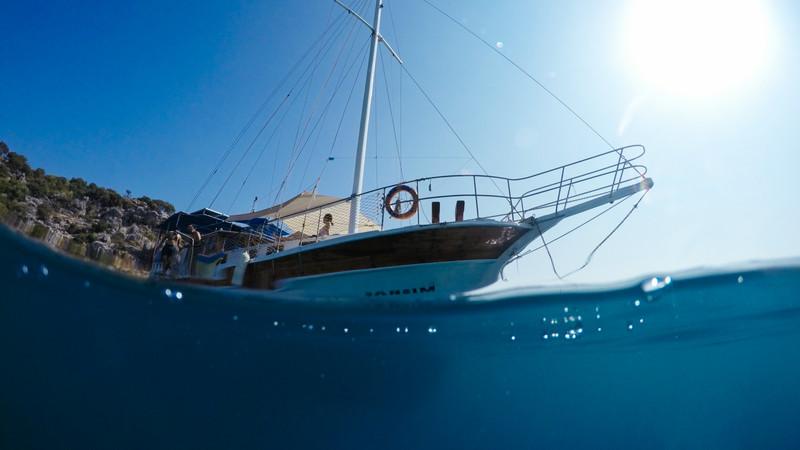 Turkey_Kas_Kekova_Boat From Water