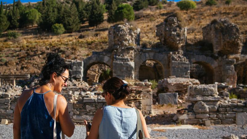 Travellers at Ephesus