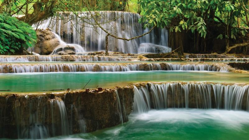 Kuang Si Falls outside Luang Prabang