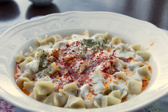 Turkish manti