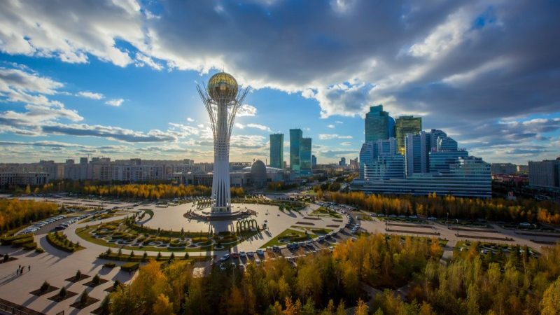 Astana's Baiterek Tower