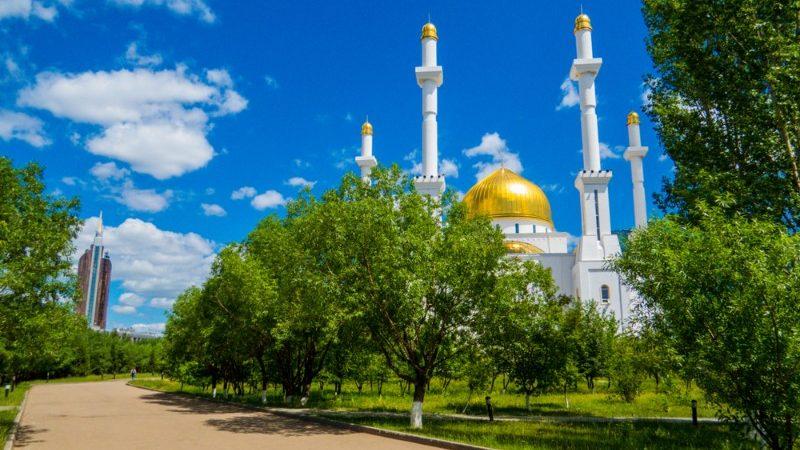 Astanas Nur-Astana Mosque.