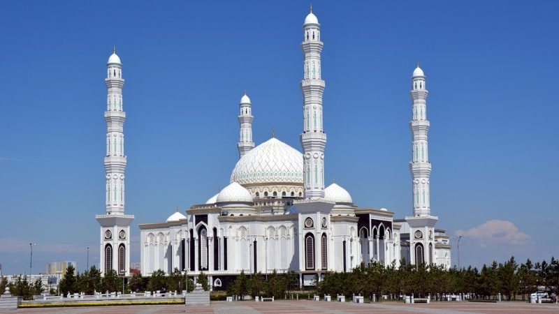 The Hazrat Sultan Mosque, Astana.