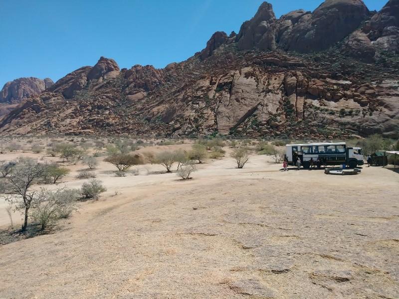 Namibia travel Spitzkoppe