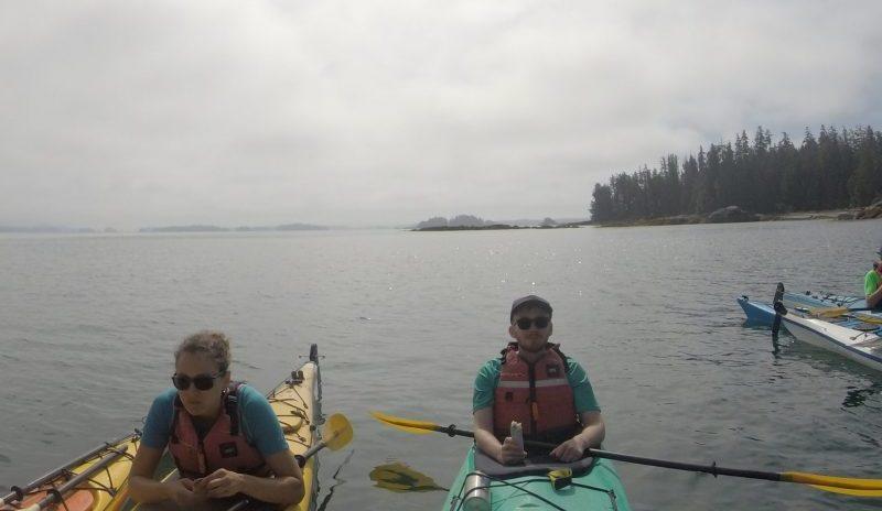 kayak BC, Canada