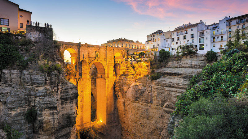 Bridge in Ronda, Spain