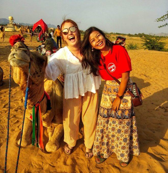 Female guide India