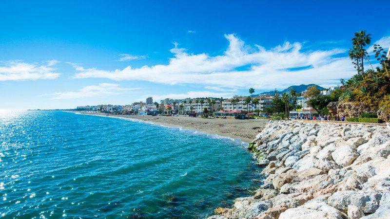 Torremolinos Beach, Spain