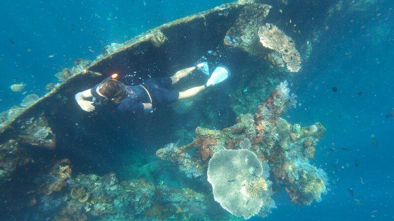 USS Liberty wreck in Bali.