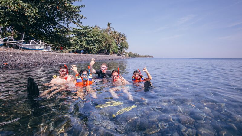active Bali trip