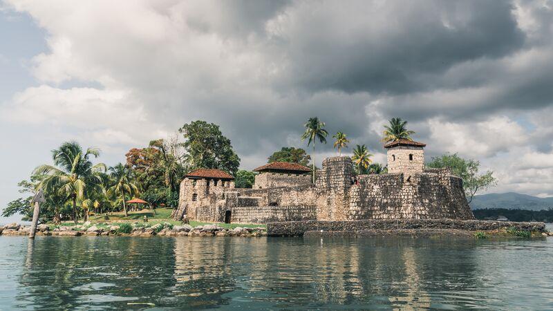 Rio Dulce fortress, Guatemala