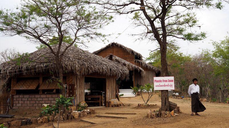 A homestay in Myaing Village, Myanmar
