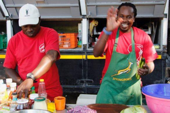 Africa overland trip cook