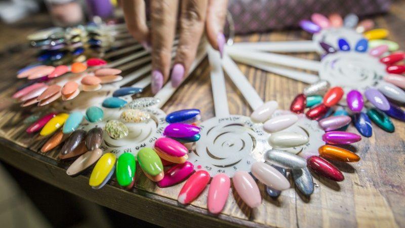 Nail polish colours